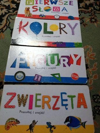 Książeczki edukacyjne dla najmlodszych