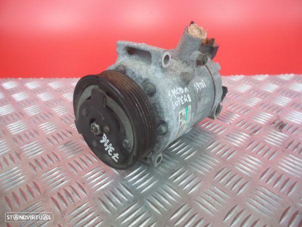 Compressor Do Ar Condicionado Skoda Superb Ii (3T4)