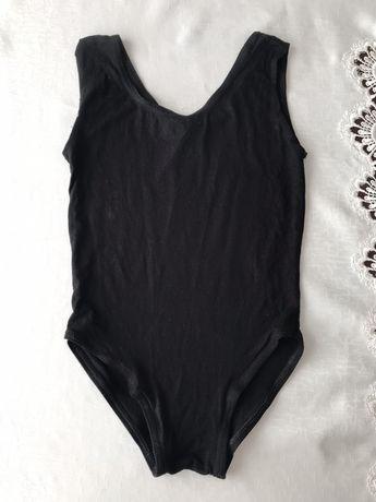 Купальник для гимнастики. Купальник чёрный . Детская одежда. Киев