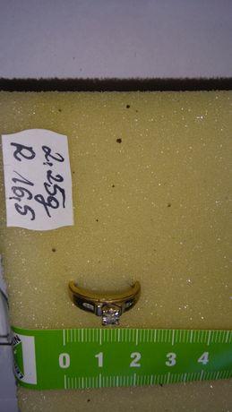 Pierścionek złoty z diamentami w cenie 3200 zł