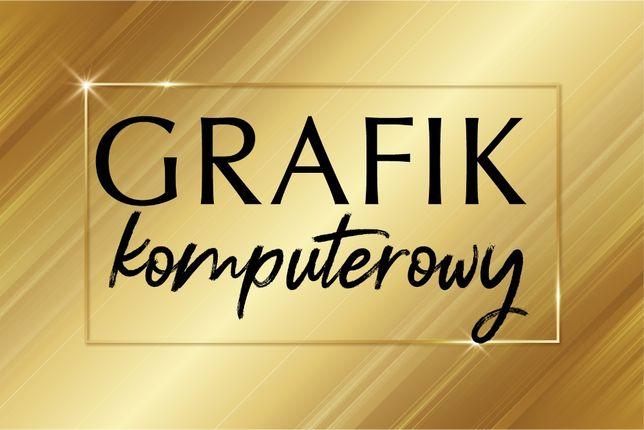 GRAFIK komputerowy/ projekt ulotki / wizytówki / baner/ logo/ www Fvat