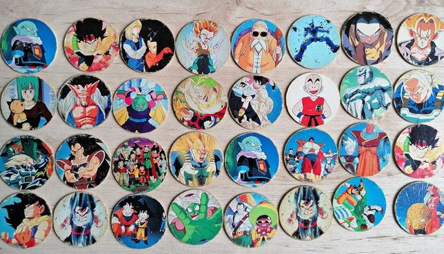 Kolekcja kapsli/tazo Dragon Ball Z CAPS