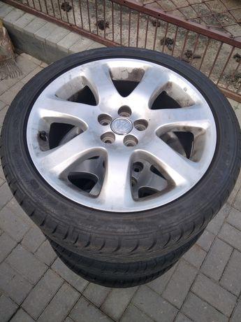 Продам комплект дисків з резиною на Тойота авенсіс r17