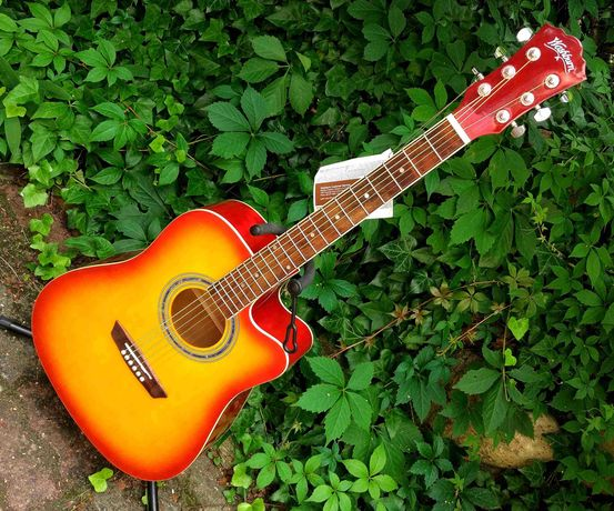 Nowa gitara akustyczna Washburn