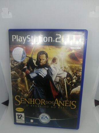 Jogo Senhor dos Anéis para Playstation 2 (ps2)