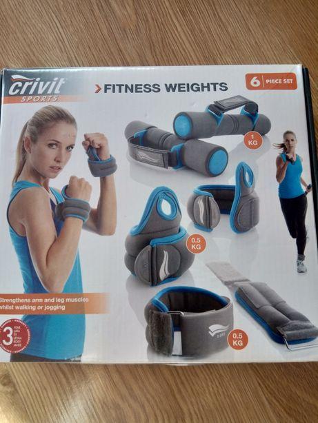 Zestaw obciążników fitness