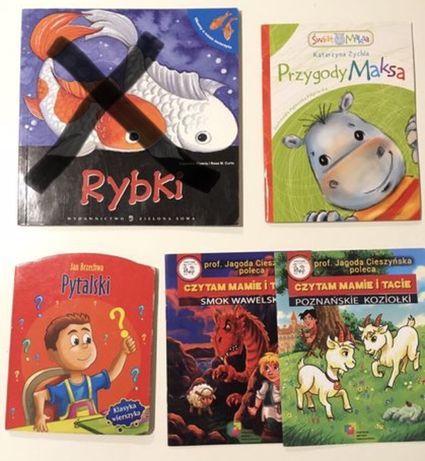 4 książeczki / książki