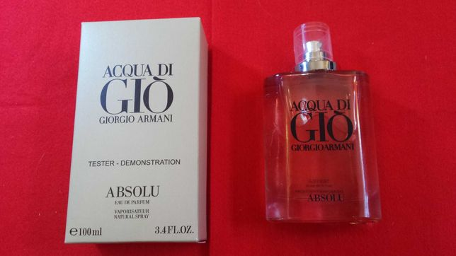 Armani Acqua di Giò Absolu EDP 100 ml Tester