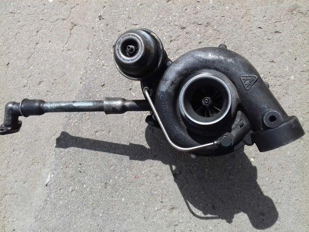 Turbosprężarka Mercedes