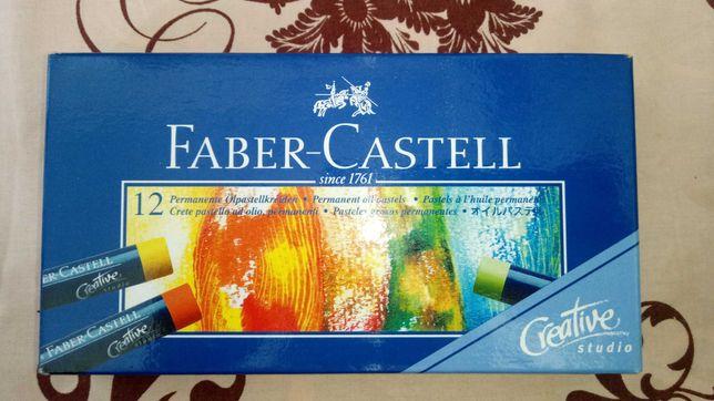 Faber-Castell мягкая и масляная пастель (продам за ненадобностью)