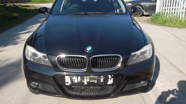 Przód BMW E90 M-PAKIET lift Black Sapphire Metallic