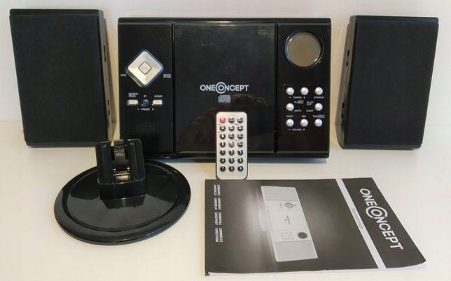 Бумбокс Германия CD MP3 USB SD FM Блютуз стерео Пульт
