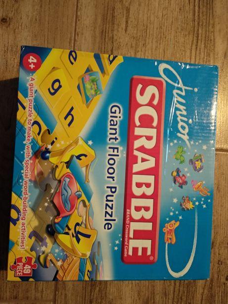Scrabble junior gigantyczne puzzle