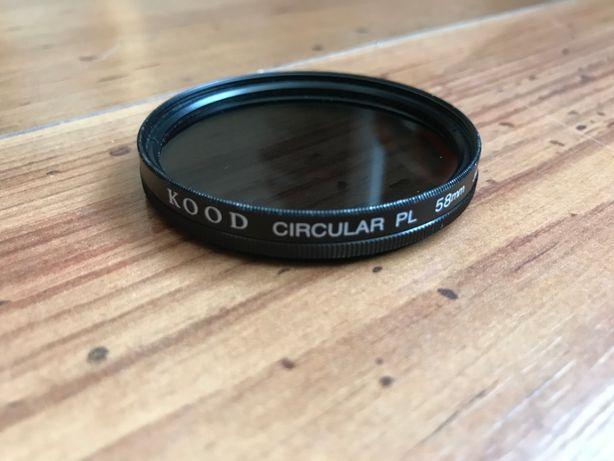 Поляризационный светофильтр KOOD Circular PL 58mm
