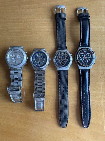 4 relógios swatch irony