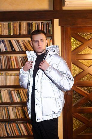 Зимняя Куртка Рефлективная/ Зимова Куртка Рефлектив/ Оверсайз, до -25°