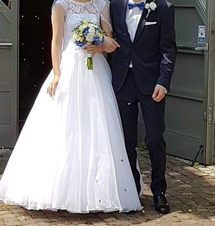 Suknia ślubna rozmiar 34 Fasson Dorota Wróbel