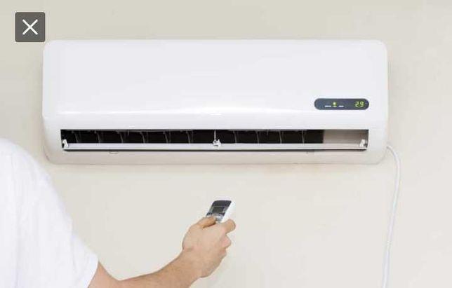 Ar condicionado. Venda, instalações e reparações de máquinas de A.C