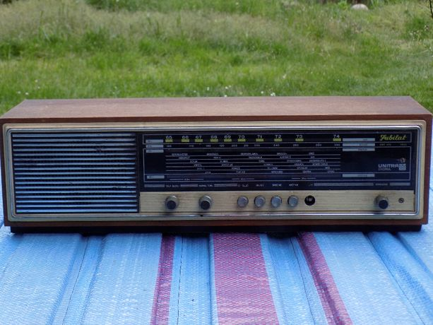 Stare radio Jubilat DMT 406 Unitra Diora (retro, vintage)