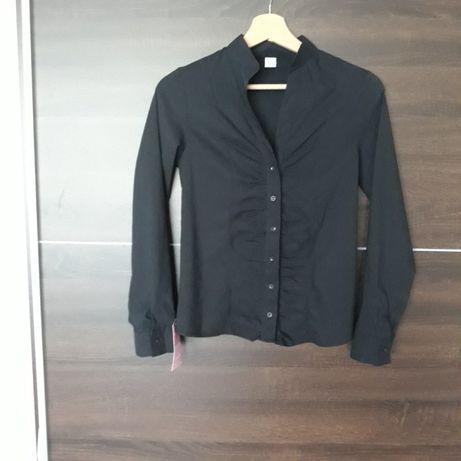 Nowa z metką elegancka czarna koszula roz 36