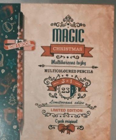 Nowe kredki bezdrewne Magic progresso magic 24 kolory koh-i-noor
