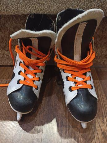 Хоккейные коньки детские 32 р. 21 см стелька