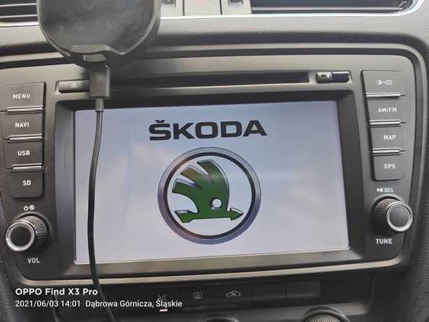 Radio Stacja Adayo Skoda Octavia III dedykowane
