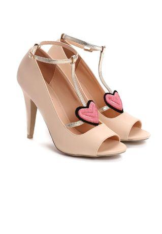 Beżowe sandały NOWE 36