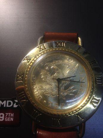 zegarek DUVAL Schweiz - 10 Gold Dollar antimagnetic
