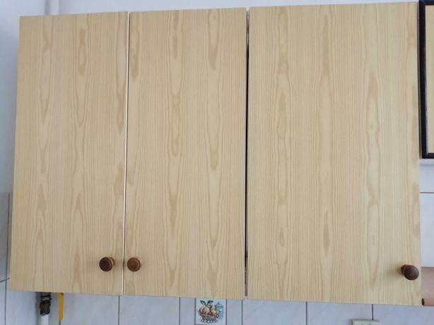 Szafki kuchenne wiszące używane zestaw 3 sztuk