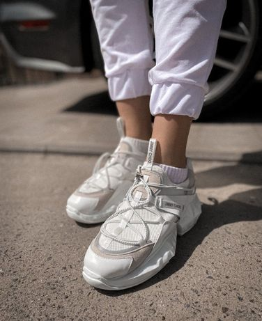 Женские кроссовки Jimmy Choo White/ Dior /Джимми Чу (Без Предоплаты)