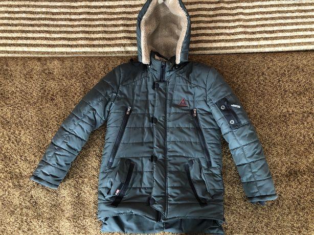 Зимова куртка на хлопчика 9 - 11 років / зимняя курточка на мальчика