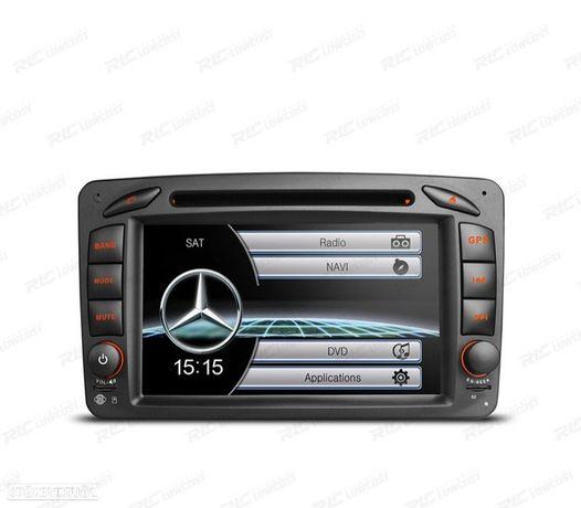 """AUTO RADIO GPS 7"""" MERCEDES CLASSE A C CLK USB GPS TACTIL HD"""