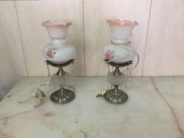 Conjunto Candeeiro Vintage - preço da chuva