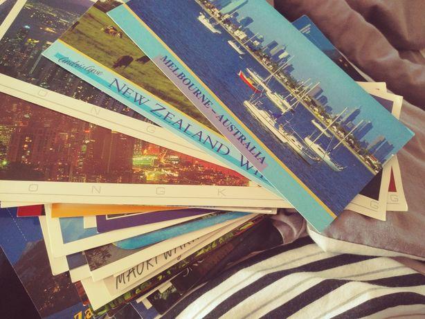 70sztuk pocztówek z całego Świata