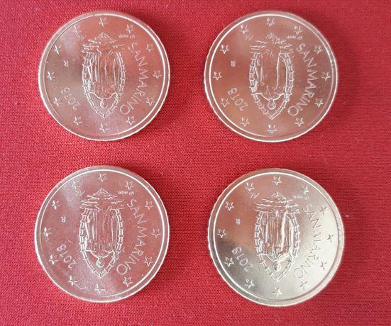 Moeda UNC Euro San Marino