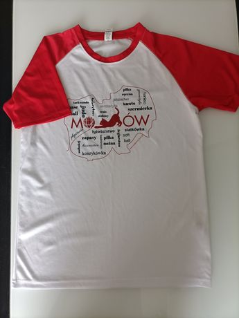 T-shirt sportowy rozmiar M
