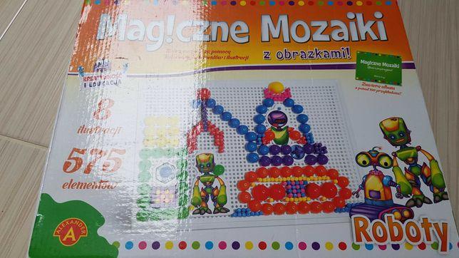 Magiczne mozaiki z obrazkami - Roboty