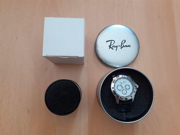 KIT RAY BAN - Relógio + Coluna