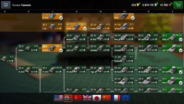 Продам аккаунт в мобильной игре wot blitz на ru сервере
