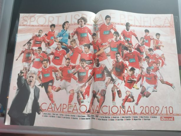 Revista  Benfica campeão nacional