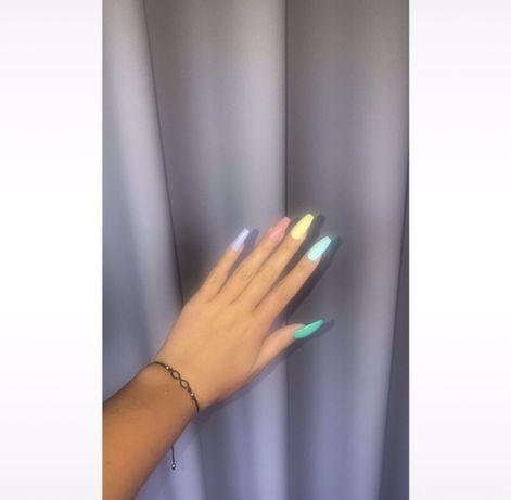Tipsy recznie robione jasne kolorowe