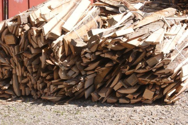 Drewno opałowe - zrzyny tartaczne 100 zł/mp