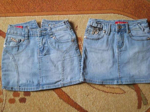Spódnice jeansowe rozm. 134- 146