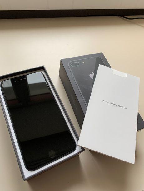 Iphone 8s Plus space grey, состояние нового, подарочный вариант!