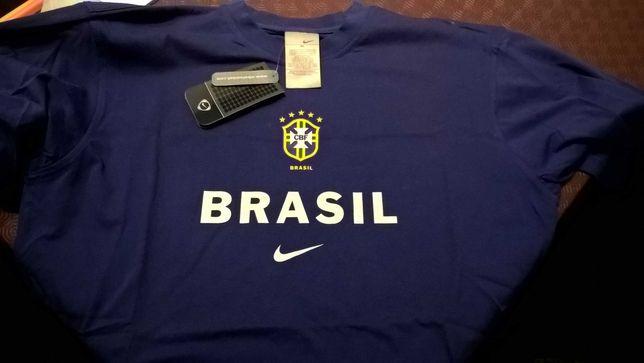 Tshirt CBF Brasil Ronaldo Nike Futebol XL NOVO COM ETIQUETAS Calção