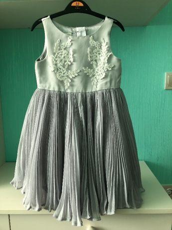 Шикарное платье Monsoon на девочку 3-4 года