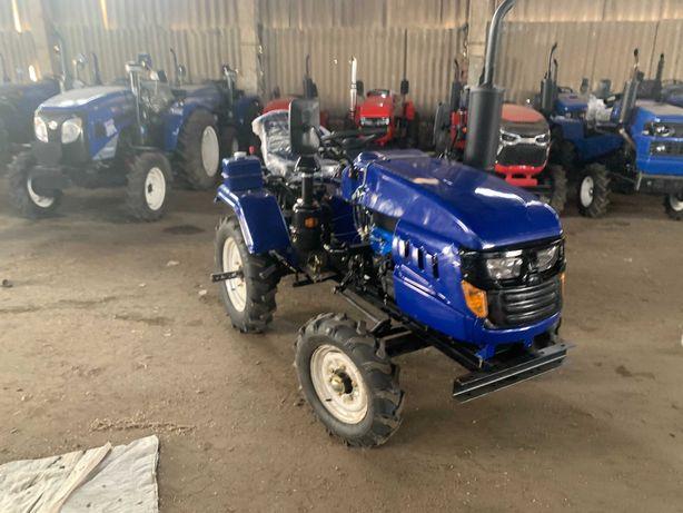 Трактор DW 160 SXL в полном комплекте (фреза и плуг). Доставка домой