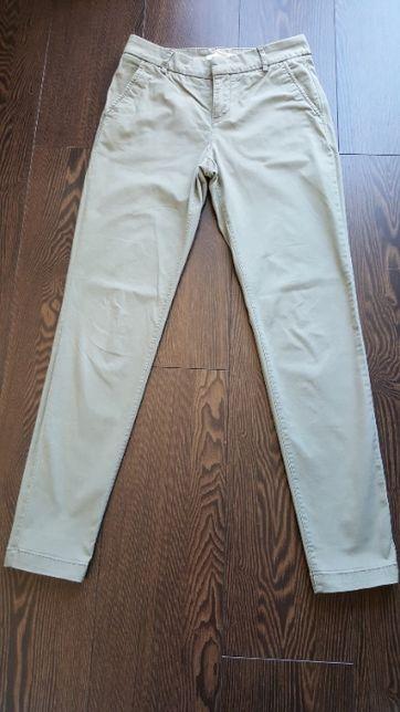 spodnie chinos, h&m rozmiar 34