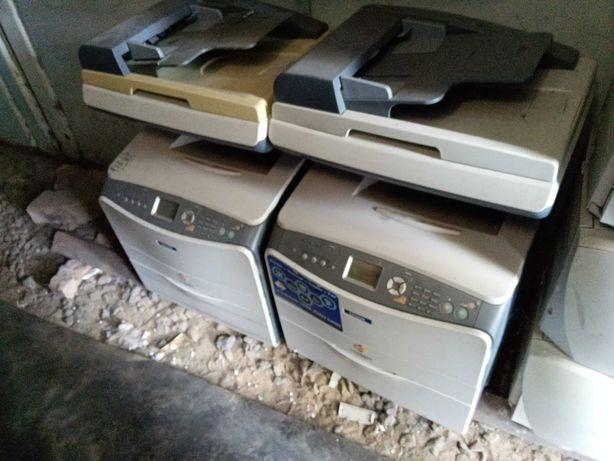 Цветное лазерное МФУ Epson AcuLaser CX11NF картриджи к принтеру C1100